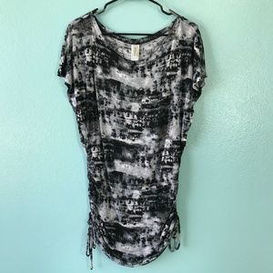 Lucky Brand Tunic top or swim cover.